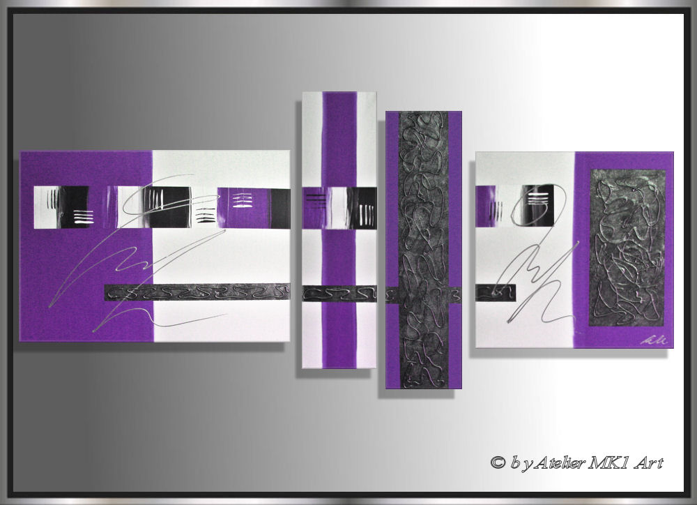 mk1 art bild leinwand abstrakt gem lde kunst malerei. Black Bedroom Furniture Sets. Home Design Ideas
